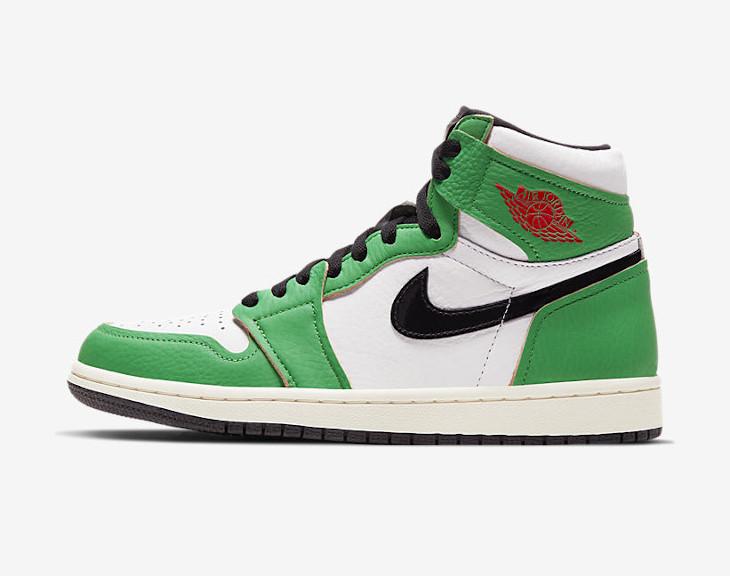 Air Jordan 1 High Wmns Lucky Green date de sortie