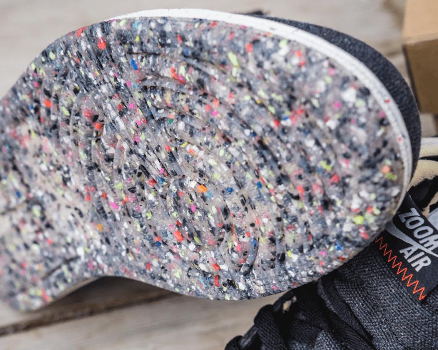 Air Jordan 1 recyclée grise et noire (8-4) (2)