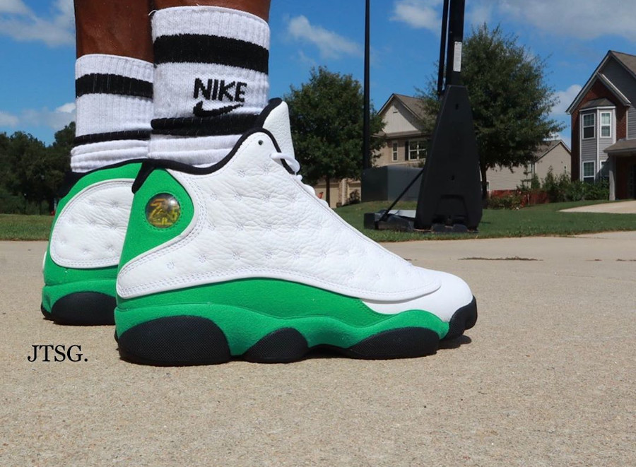 Air Jordan 13 Retro Lucky Green Ray Allen DB6537-113