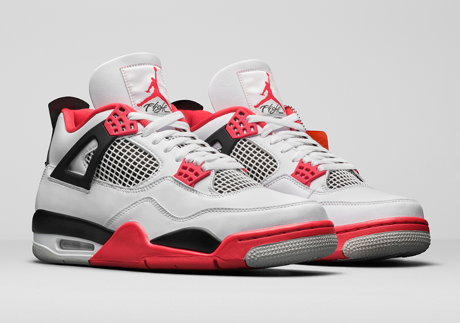 Air Jordan 4 Retro Fire Red 2020