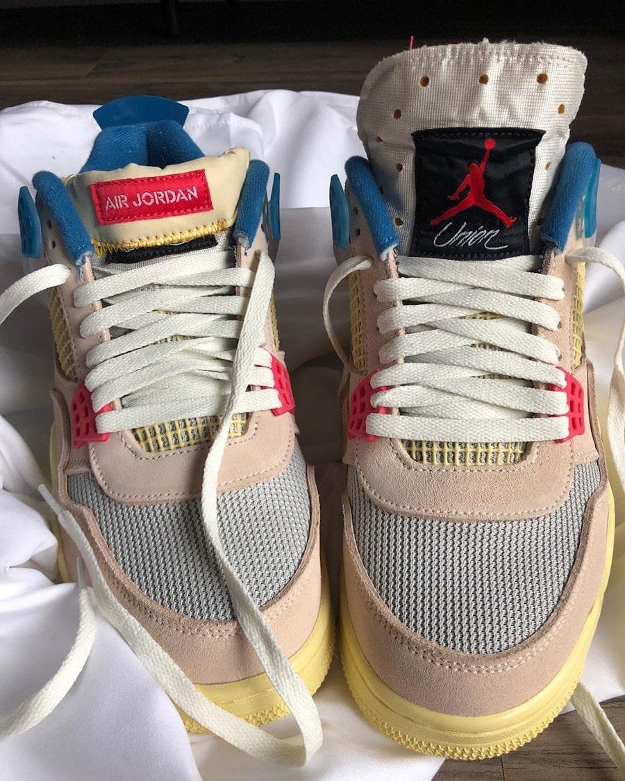 Air Jordan 4 UNLA beige (1)