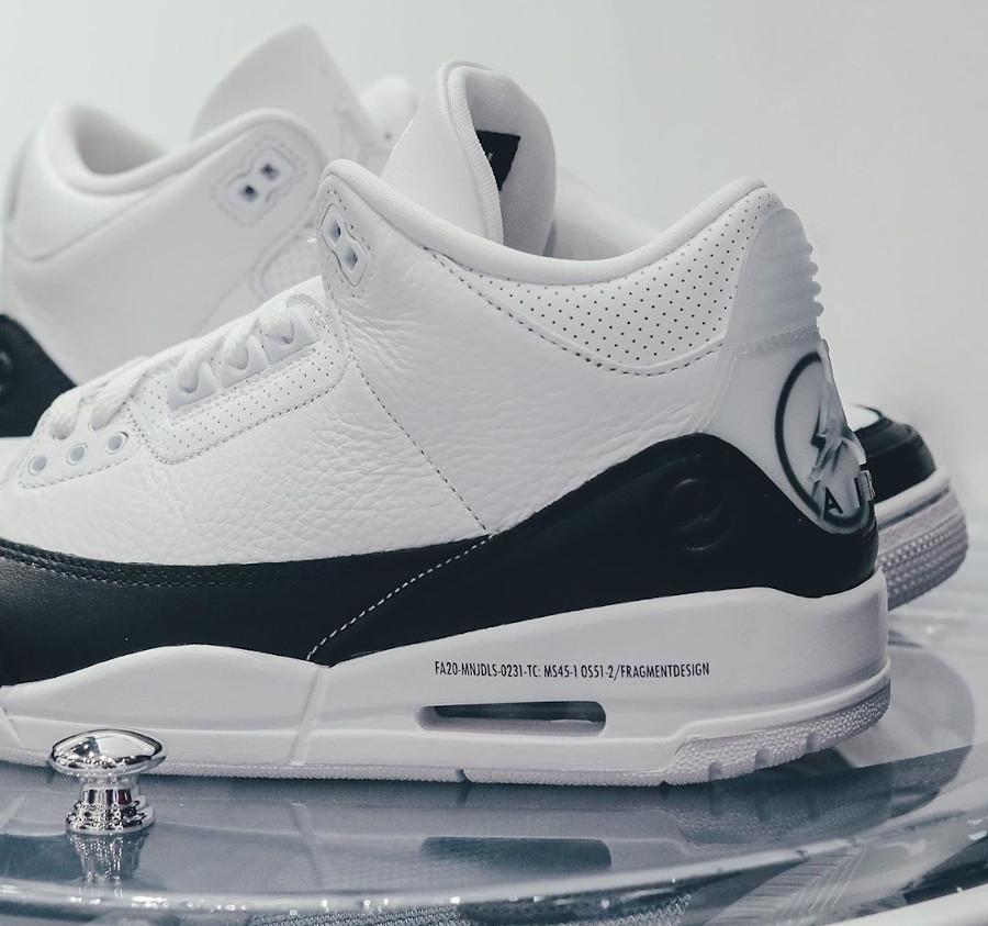 Air Jordan III 2020 blanche et noire (4)