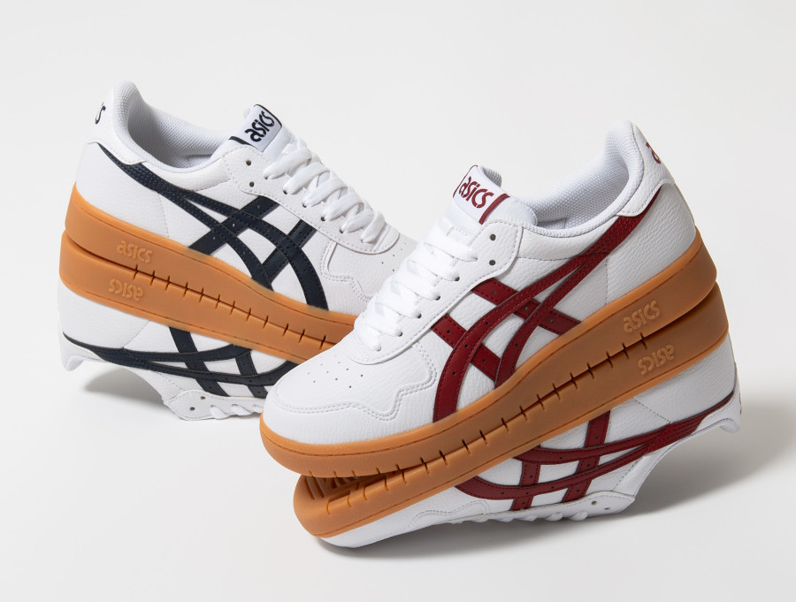 Asics-Japan-S-White-blanche-et-bordeaux-1191A163-105