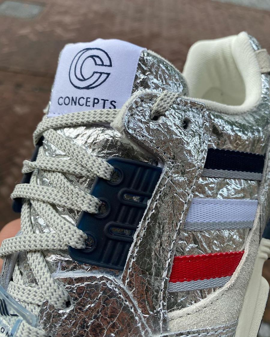 Cncpts x Adidas ZX9000 2020 en aluminium (3)