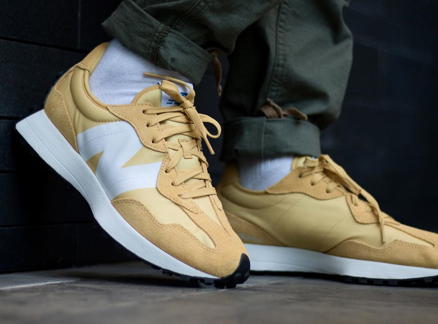 New Balance 327 ms327cpf Savannah Yellow (2)