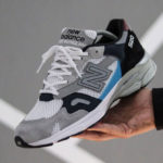 New Balance 920 Grey White Navy (made in England)