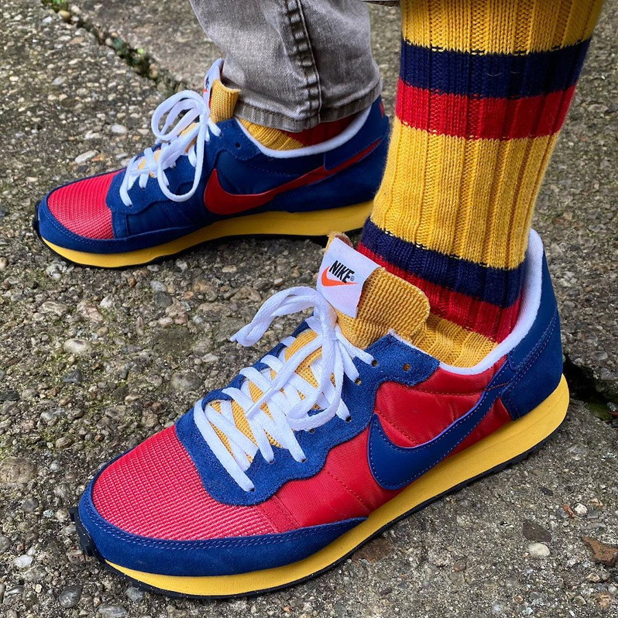 Nike Air Challenger OG 2020 Red Blue Yellow CW7645-600