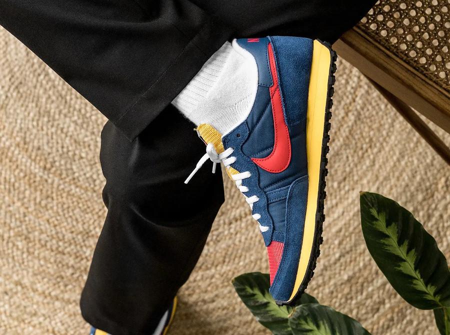 Nike Air Challenger OG 79 rouge bleu et jaune (3)