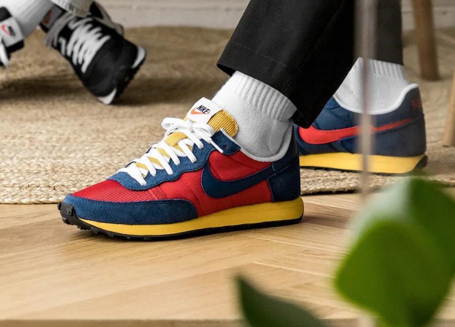 Nike Air Challenger OG 79 rouge bleu et jaune (4)