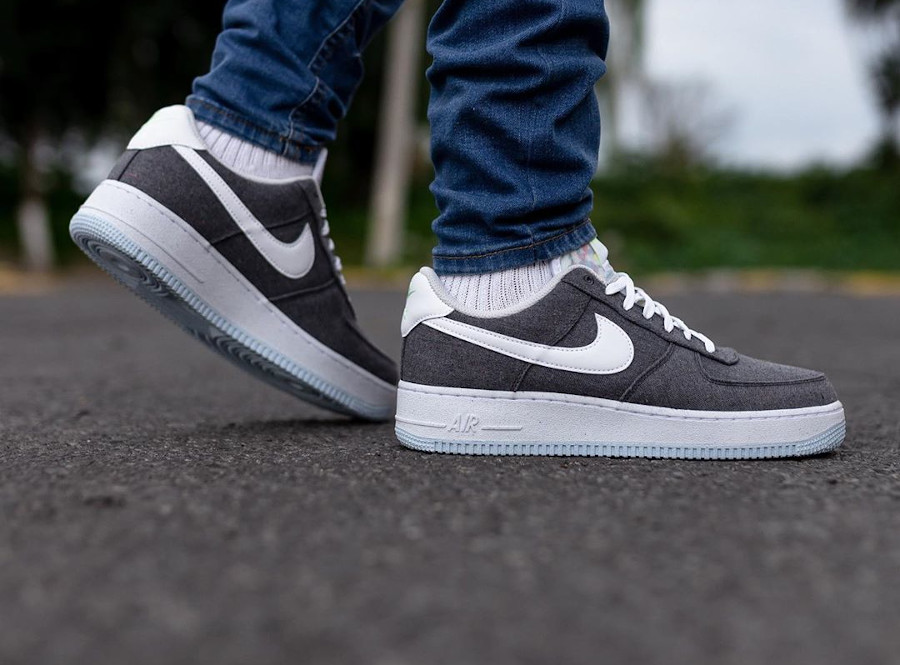 Nike Air Force 1 '07 Crater Recycled Canvas Iron Grey CN0866-002