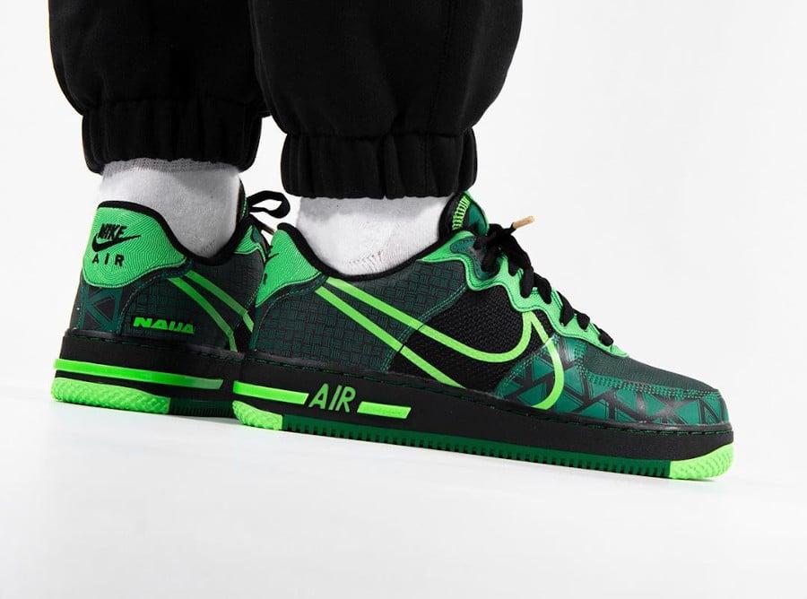 Nike Air Force 1 React QS 'Naija' Nigeria CW3918-001