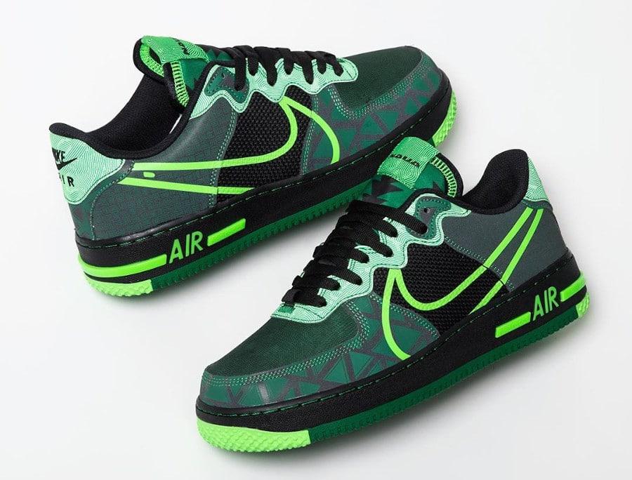 Nike Air Force One React Super Eagles (1)