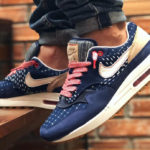 Denham x Nike Air Max 1 Premium Blue Void