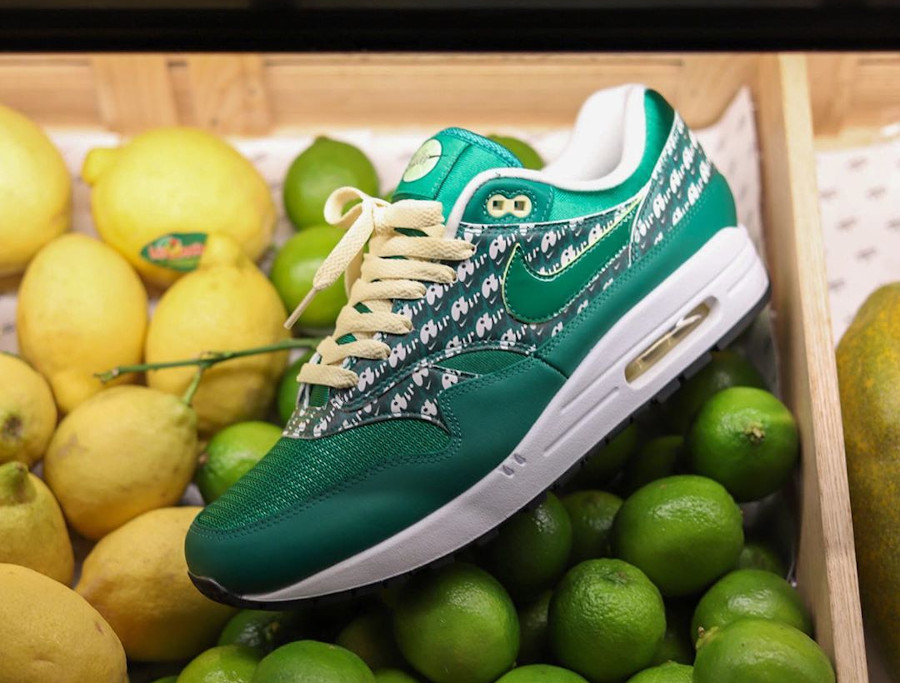 Nike Air Max 1 PRM Powerwall Limeade CJ0609 300