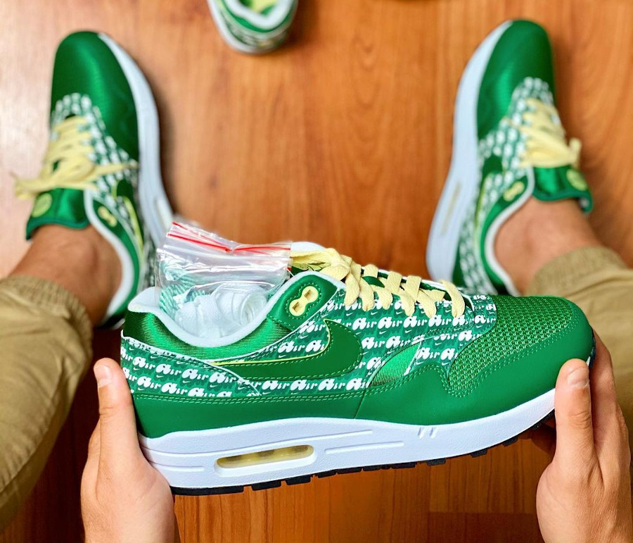 Nike Air Max 1 PRM Powerwall Limeade Green