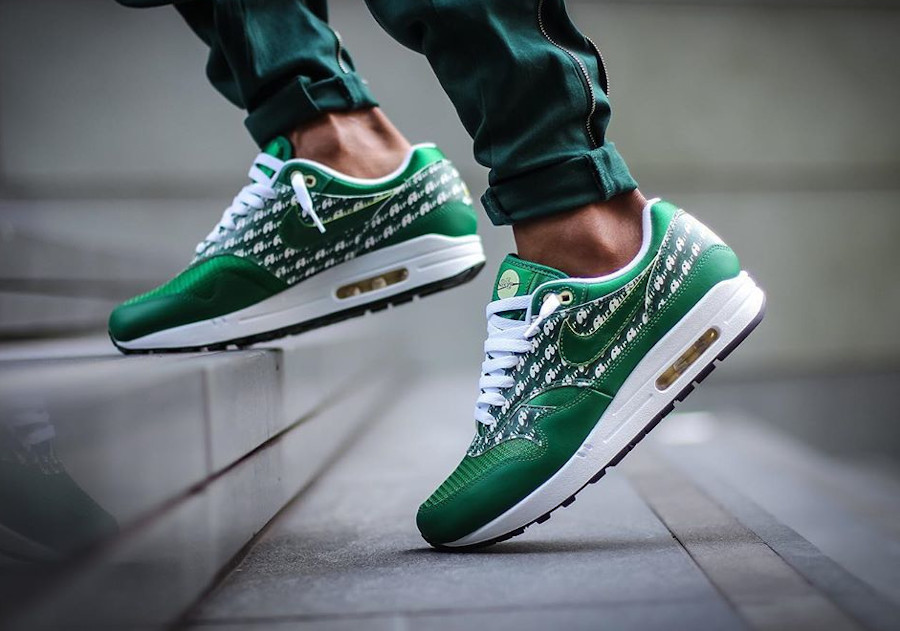 Nike Air Max 1 Premium Lemonade Green 2020 (1)