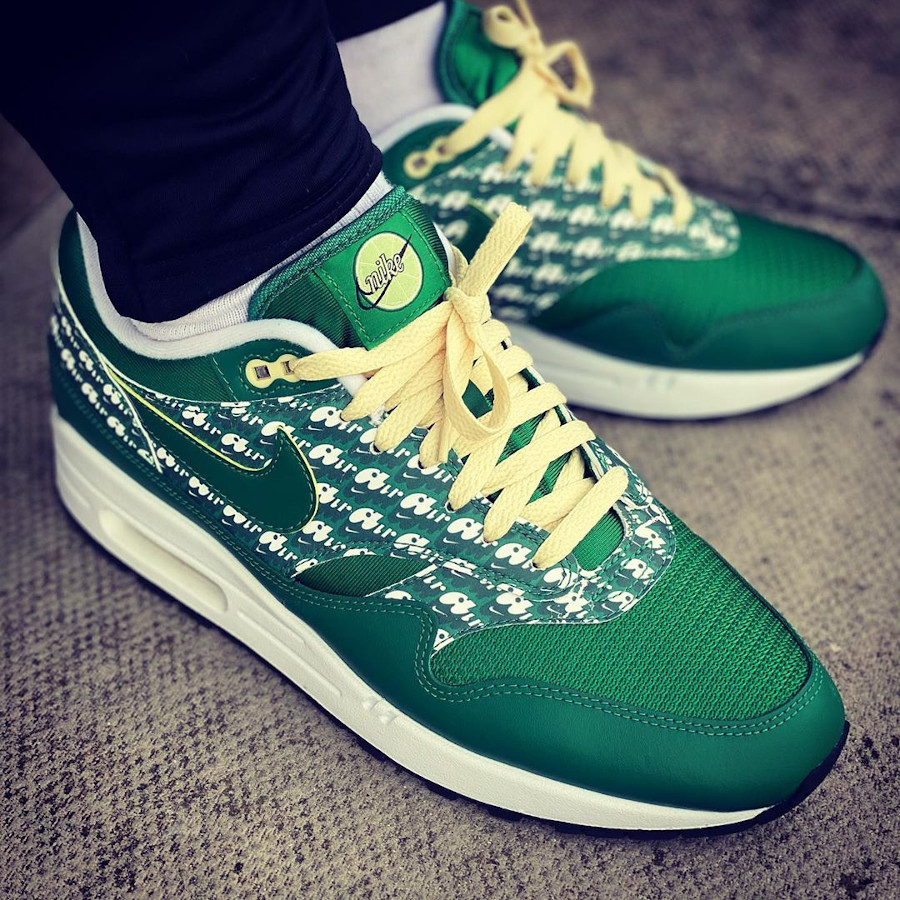 Nike Air Max 1 Premium Lemonade Green 2020 (3)