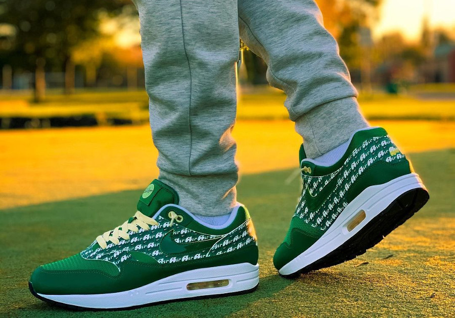 Nike Air Max 1 Premium Lemonade Green 2020 (4)