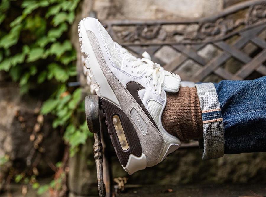 Nike Air Max 3 2020 marron blanc cassé et gris (6)
