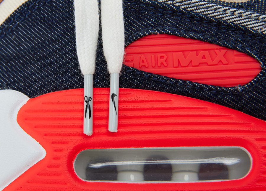 Nike Air Max 90 DNHM Infrarouge en denim (2)