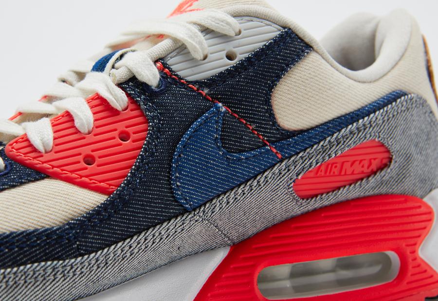 Nike Air Max 90 DNHM Infrarouge en denim (3)