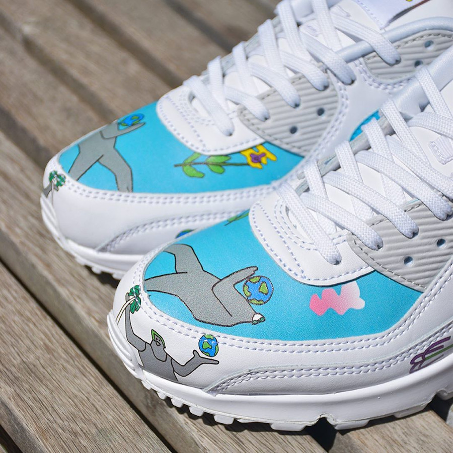 Nike Air Max 90 Flyleather QS CZ3992-900 (1)
