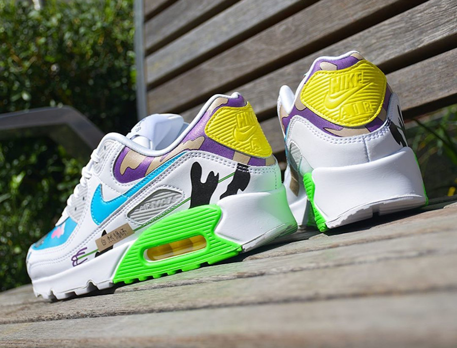 Nike Air Max 90 Flyleather QS CZ3992-900 (2)