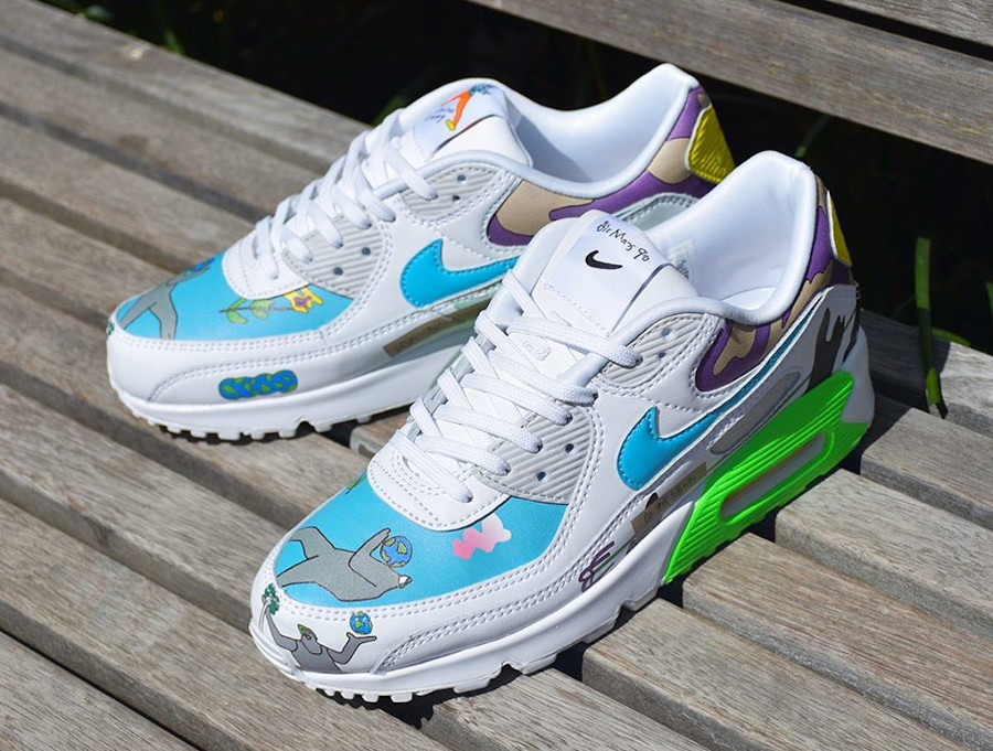 Nike Air Max 90 Flyleather QS CZ3992-900 (4)