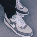 Nike Air Max 90 Recycled Canvas 'Vast Grey Barely Volt'