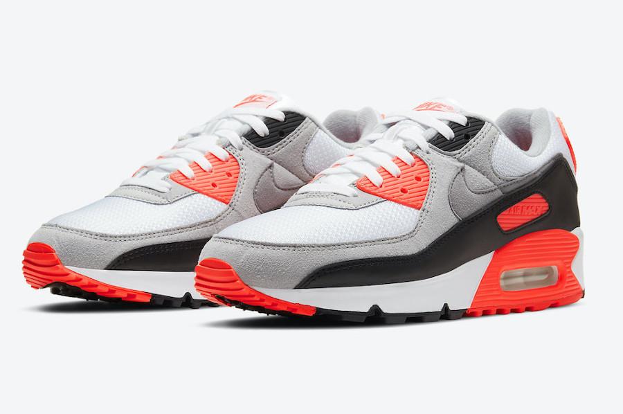 Nike Air Max 90 OG Infrared 2020 date de sortie