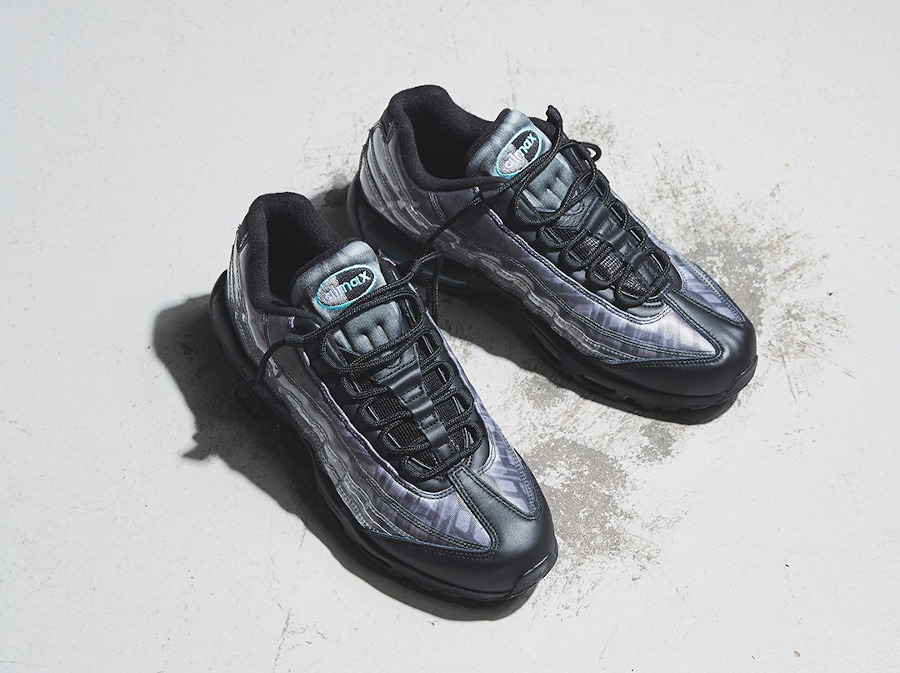 Nike Air Max 95 DNA Aurora Green Skeleton DA7735-001