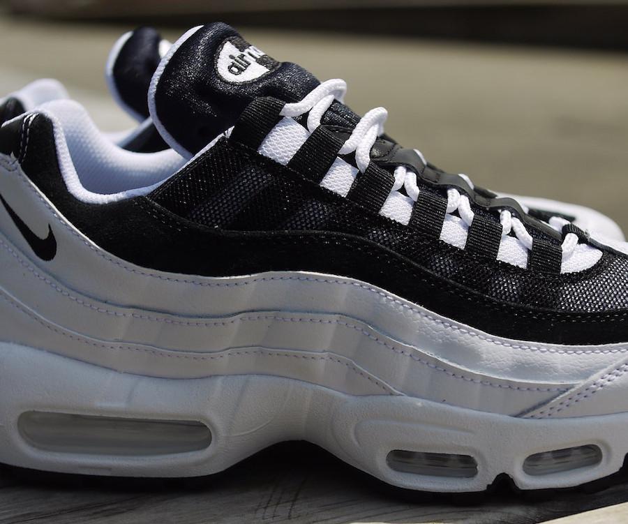 Nike Air Max 95 Essential 2020 blanche et noire (3)