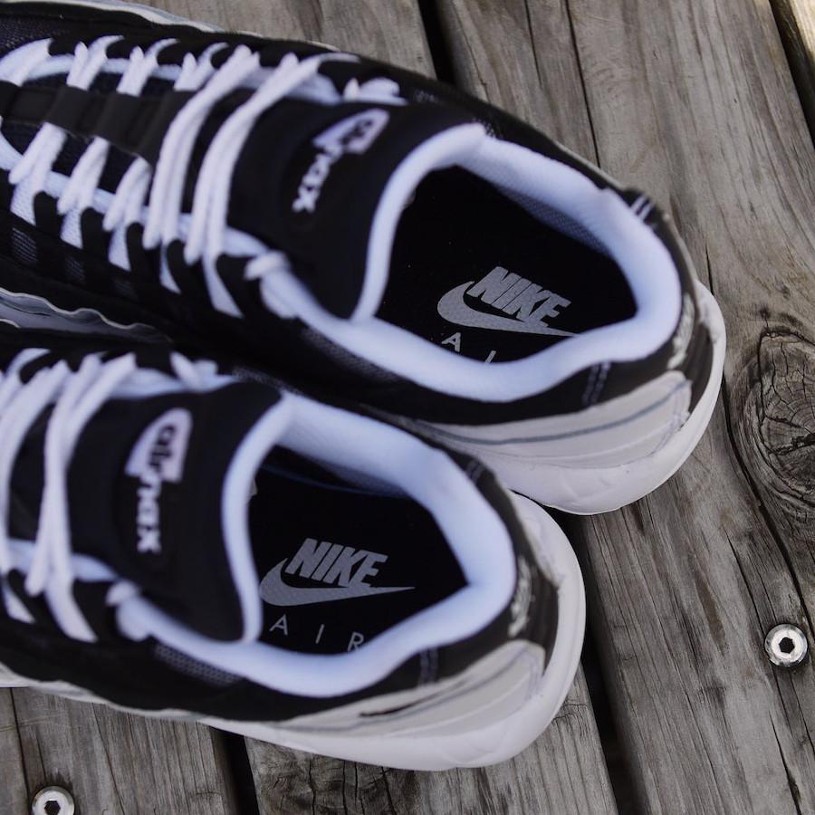 Nike Air Max 95 Essential 2020 blanche et noire (4)