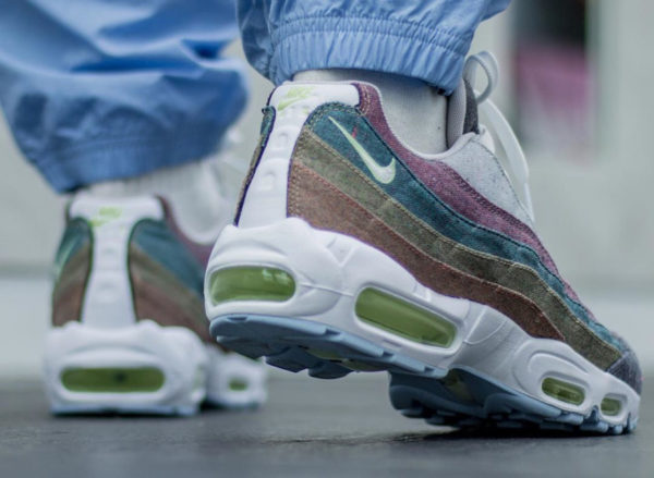 Nike Air Max 95 PRM Recycled Canvas Grey CK6478-001