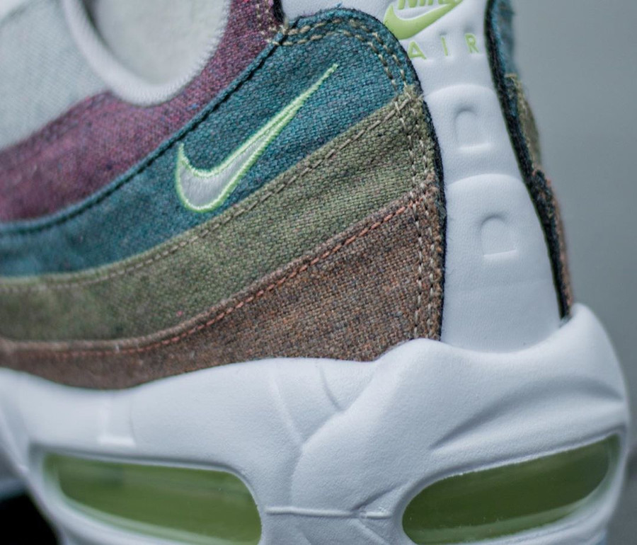 Nike Air Max 95 en fibre recyclée grise (1)