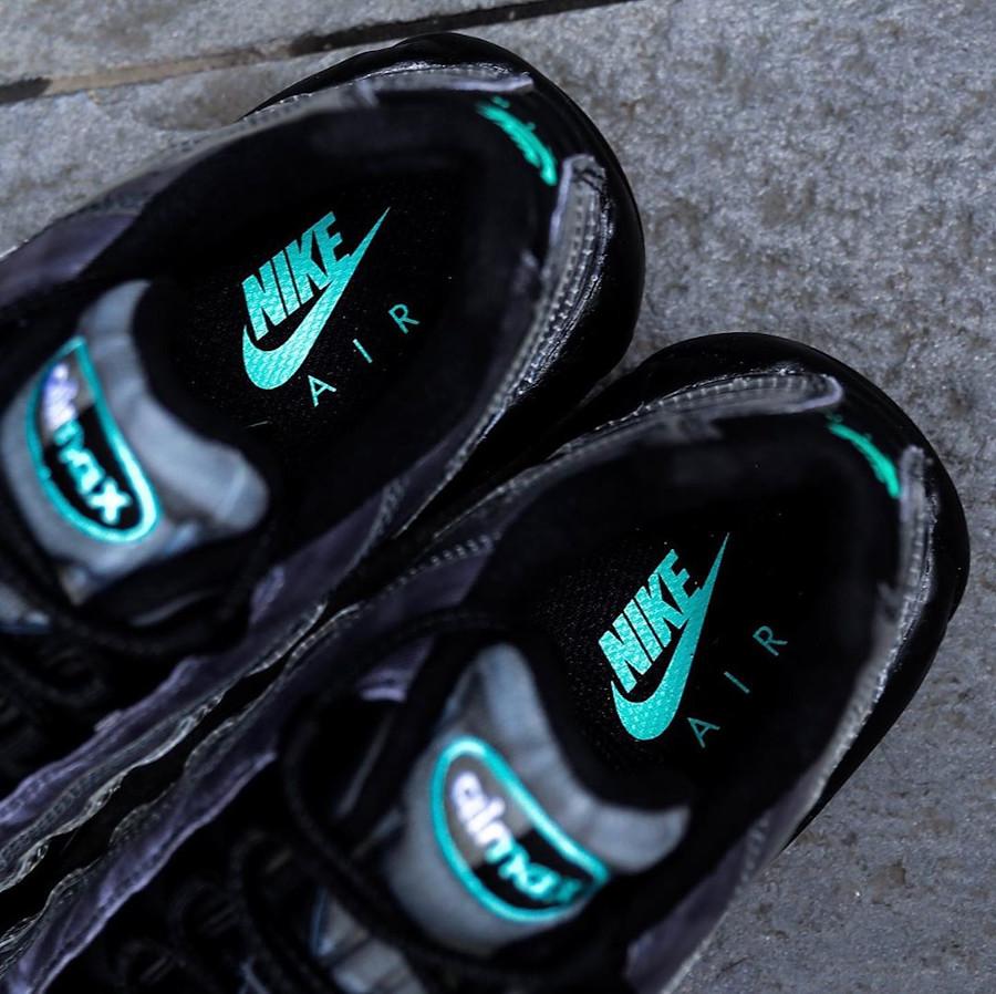 Nike Air Max 95 noire avec imprimé squelette (1)