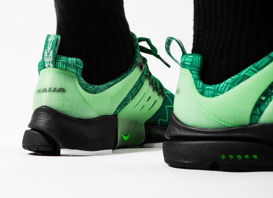 Nike Air Presto NG verte Super Eagles (1)