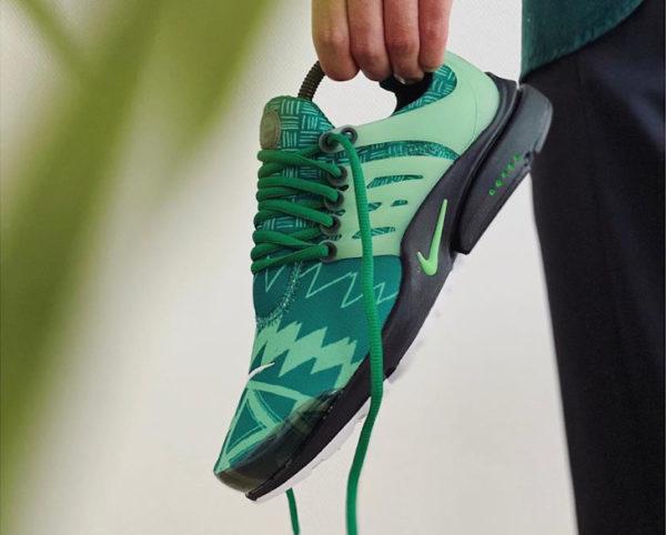 Nike Air Presto Naija Nigeria Pine Green CJ1229-300