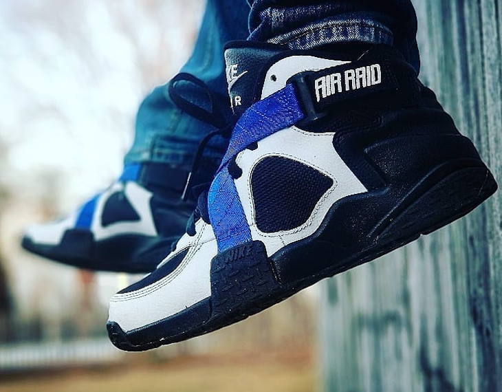 Nike Air Raid 2 Black Royal White - @let_your_sole_glo