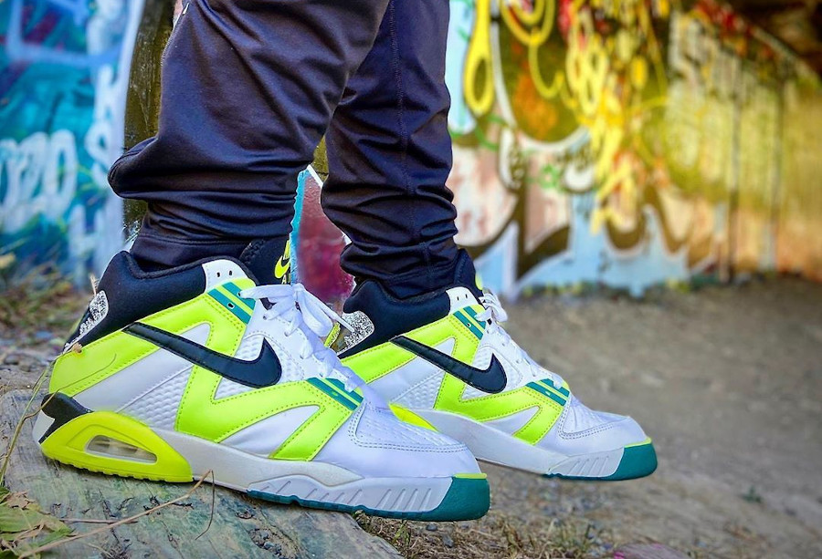 Nike Air Tech Challenge 3 OG Volt - @mistericecreamman