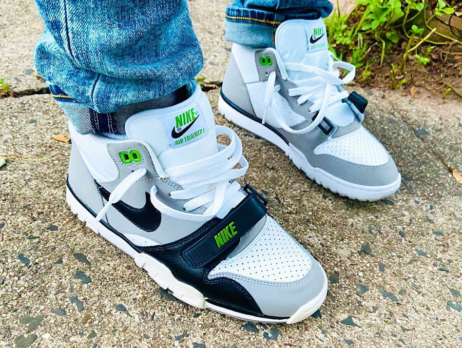 Nike Air Trainer 1 Mid Chlorophyll - @sole_srvr