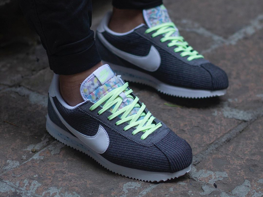 Nike Cortez Basic PRM Recycled Canvas Grey CQ6663-001
