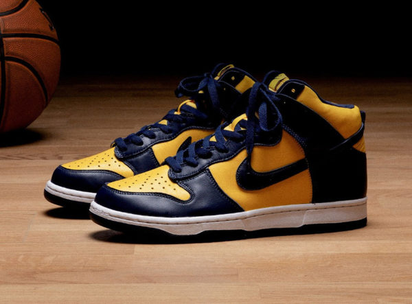 Nike Dunk High SP Michigan Maize Blue CZ8149-700
