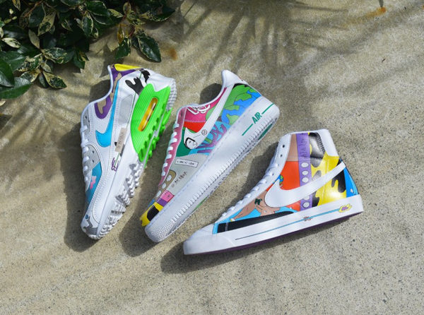 Nike Flyleather Ruohan Wang Multicolor Earth Day 2020 (1)