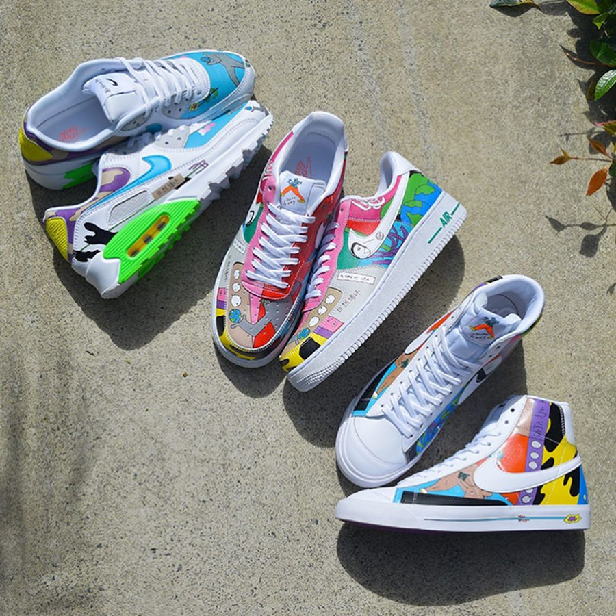 Nike Flyleather Ruohan Wang Multicolor Earth Day 2020 (2)