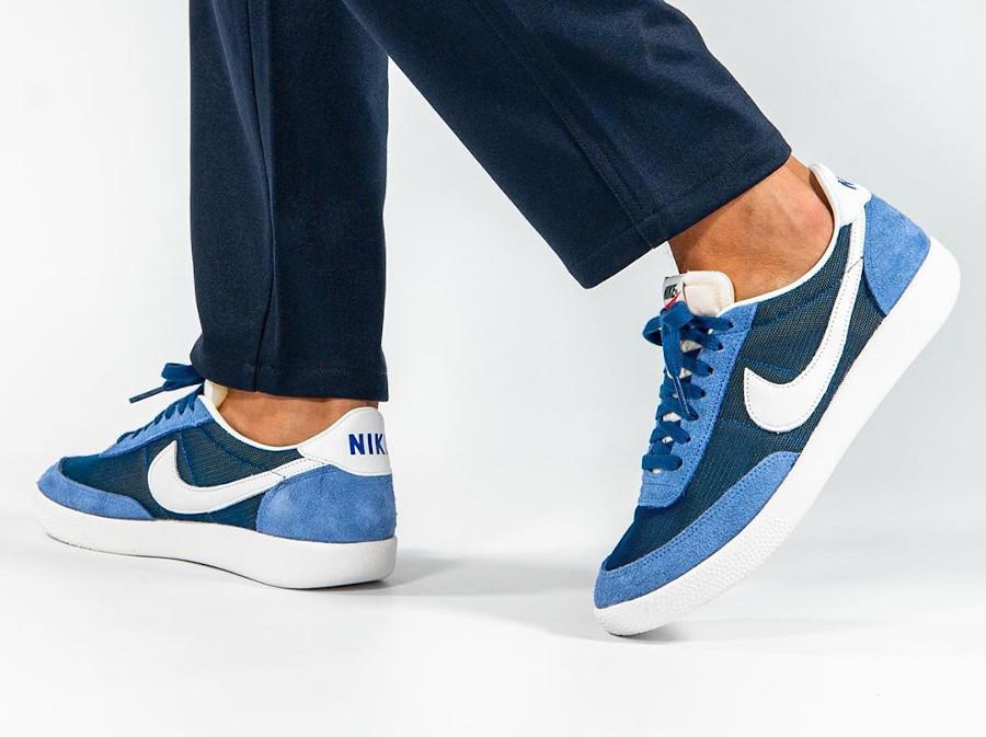 Nike Killshot SP bleu marine et blanc cassé DC1982 400 (2)