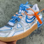 Off White x Nike Air Rubber Dunk 'University Blue'