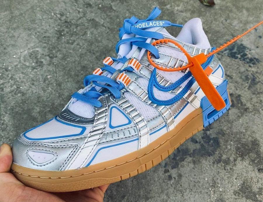 Nike Rubber Dunk Off White University Blue CU6015-100