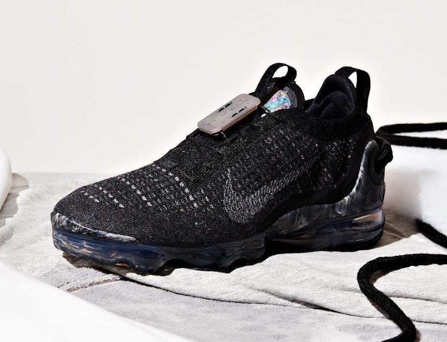 Nike Vapormax Flyknit 2020 Space Hippie gris et noir (1)