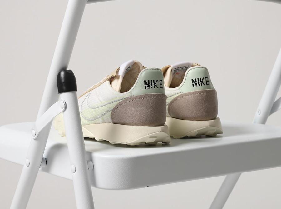 Nike Waffle Racer Lux beige blanc cassé (1)